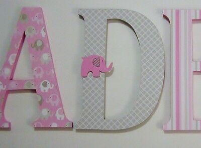 Custom Wood Letters-ANY NAME-We can co-ordinate with your décor