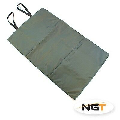 NEW NGT CARP FISHING GREEN UNHOOKING MAT. 100cm X 60cm NGT Quickfish Brand NEW**