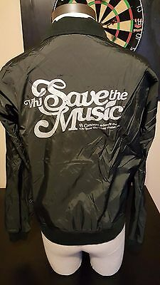 Vintage VH1 Save The Music American Apparel Jacket TV School Instruments Charity