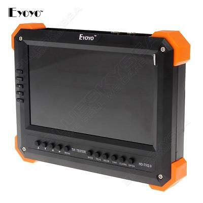 "X41T 7"" Display HD-TVI+HDMI+VGA+CVBS Camera Monitor Tester 4-in-1 Video Input"