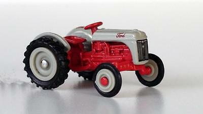 Ford 8N Tractor Scale 1/87 Diecast New With Tag
