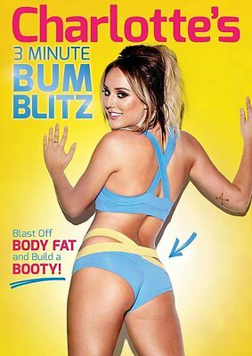 Charlotte's Crosby 3 Minute Bum Blitz Workout 3 mins A Day Fitness Brand New