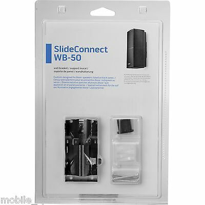 WB-50 SlideConnect Flush Mount Wall Bracket fit for Bose Cube/Lifestyle Speakers