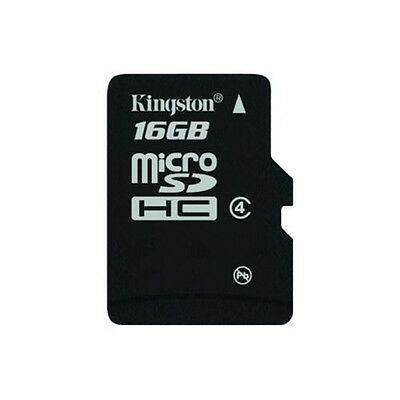 Carte mémoire Micro SDHC 16 GB classe 4 KINGSTON