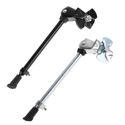 Heavy Duty Bike Bicycle Cycling Kick Stand Adjustable Rubber Foot Frame Fitting