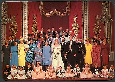 1986 Prince Andrew & Sarah Ferguson Wedding with the Royal Family