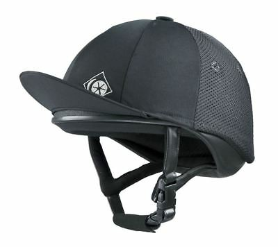 Charles Owen J3 Jockey Skull Riding Helmet - PAS 015 and ASTM F1163
