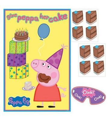 Peppa Pig Birthday Party Poster Game For 8 Players