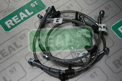 Russell Stainless Steel Brake Line Kit Honda Civic 92-95 Rear Disc No ABS 684600