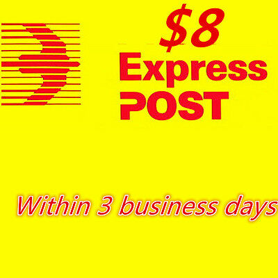 $8 Express postage-Within 3 business days