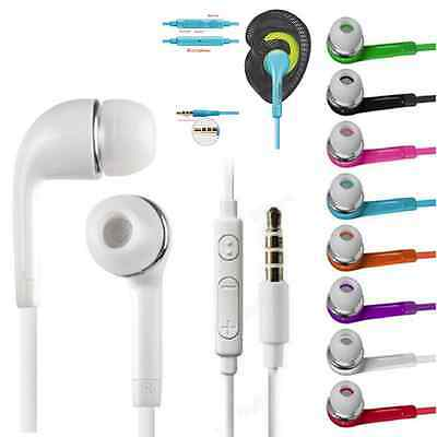 3.5mm In-ear Headphone Earphone Headset With MIC For Samsung S6 Edge Plus S4 S5