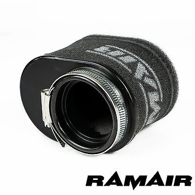 RAMAIR High Flow Motorcycle Race Foam Pod Air Filter 55mm Oval Neck