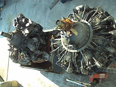Pratt & Whitney Twin Wasp Engines R-1830