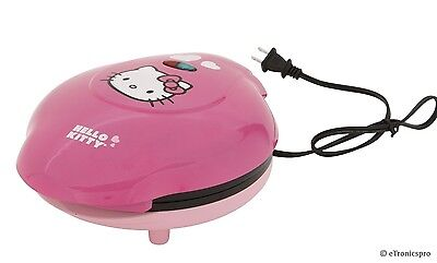 New Hello Kitty App-61209 Electric Pancake Maker Griddle Kitchen Appliance Pink