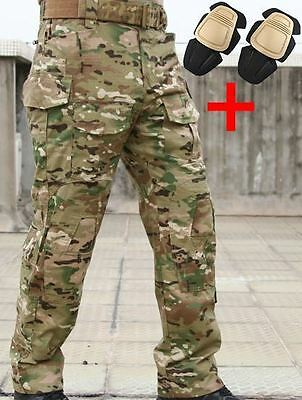 Airsoft Emerson Gen 3 Pants Trousers Multicam Mtp Knee Pads 36-38 Crye Style Uk