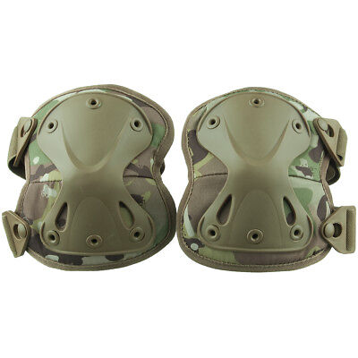 Viper Protective Hard Shell Knee Pads Paintball Airsoft Hunting V-Cam Camouflage