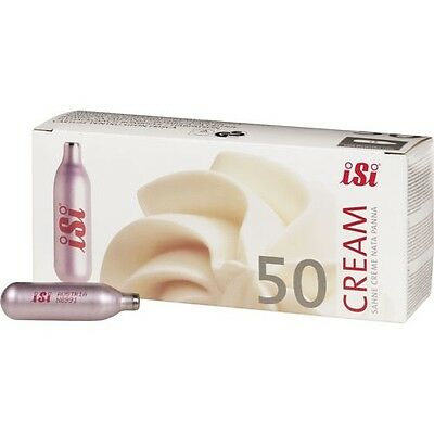 iSi North America Non-Refillable Whip Cream Chargers 50 ct iSi North America