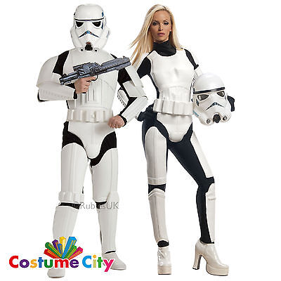 Adults Couples Official Disney Star Wars Stormtroopers Fancy Dress Party Costume