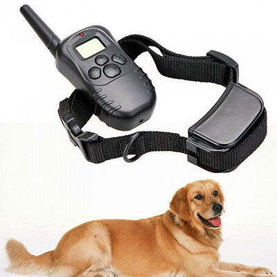 Wireless Remote Dog Pet Training Collar 100 Level with LCD Display Free Shipping