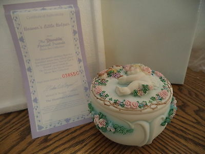 "Dreamsicles 1996 Musical Trinket Box ""Heaven's Little Helper"""