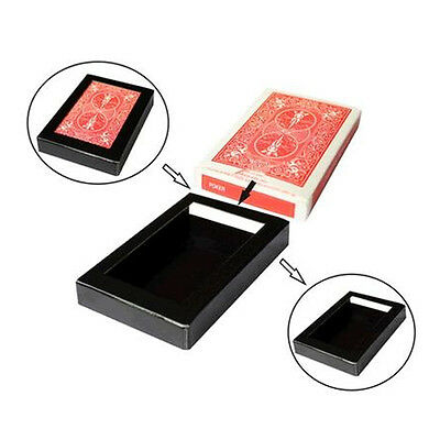 Vanishing / Disappearing Deck Cards & Box Close-Up/Street Magic Trick Illusion
