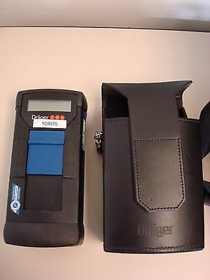 Drager Cms 6405250 Gas Analyzer Unit W/ Case, Working Condition