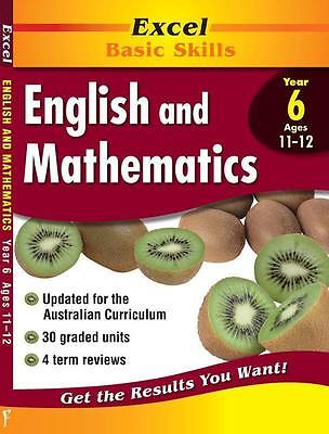 NEW Excel English & Maths Yr 6 By Various Paperback Free Shipping
