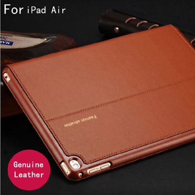 Luxury Classic Leather Case Smart Auto Sleep Cover For iPad 2 3 4/ mini/ Air New