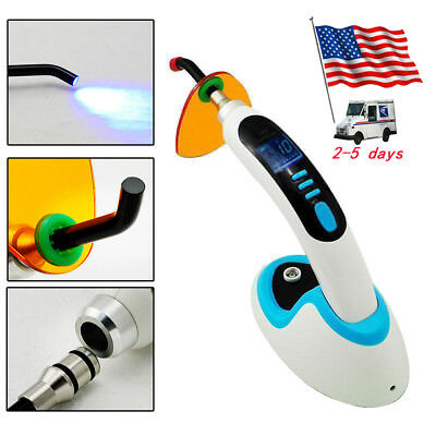 2017 Sale 10W Wireless Cordless LED Dental Curing Light Lamp 2000MW+ Whitening
