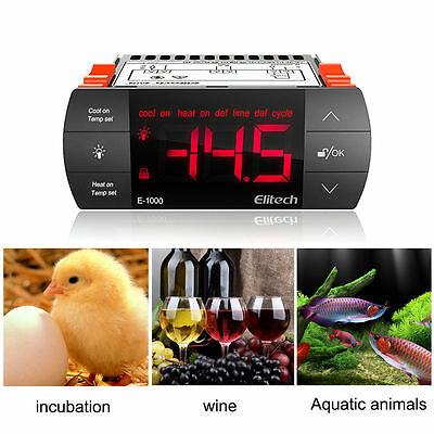 Elitech Manufacture Sale All-Purpose Aquarium Temperature Controller E-1000