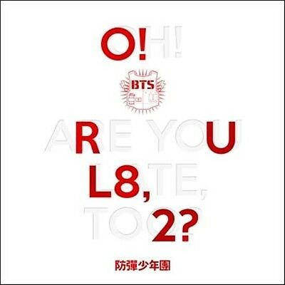 BTS  1st MINI ALBUM [  O! RUL8, 2? ] 방탄소년단 BANGTAN BOYS  CD+Booklet+Photocard