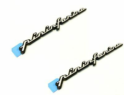 PAIR of Alfa Romeo GTV Spider Brera Pininfarina Badge 60676919 New,& GENUINE