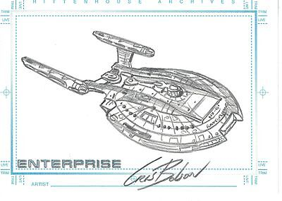Star Trek Enterprise Season 1 Sketch Cris Bolson