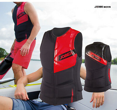 Gilet néoprène Progress Comp Vest Men Red Jobe - wakeboard - skis