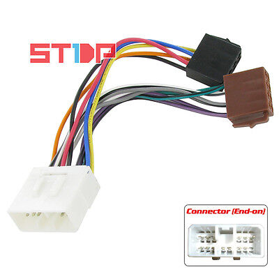 ISO WIRING HARNESS for SUBARU FORESTER AUG/1997 to 2007 cable connector lead