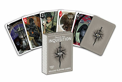 Dragon Age Inquisition Playing Cards Series Two - New Artwork