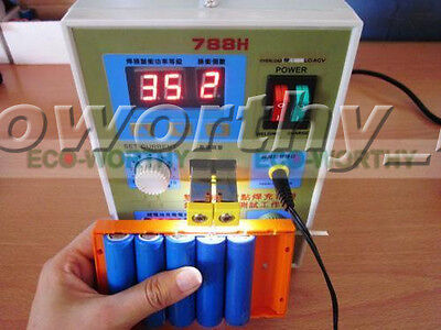 788H 60A LED Pulse Spot Welder Welding Soudeuse Soudure Battery Charger