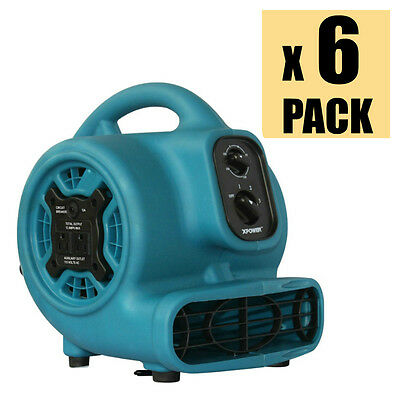 Mini Air Mover XPOWER P-230AT 1/5 HP Pro Carpet Dryer Fan w/ Timer (WHOLESALE)