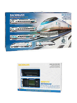 Bachmann Amtrak Acela Express Train Set with Dynamis Wireless DCC Controller