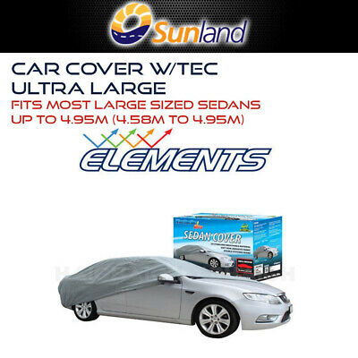 Weathertec Ultra Uv Stabilised Car Cover Fits Large Sedans To 5M 5 Meters