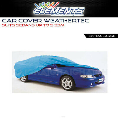 CAR COVER FITS Extra Large Sedans to 5.33m WeatherTec UV Weather Protection
