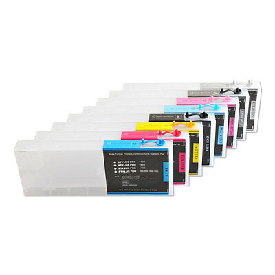 HOT! Epson Stylus Pro 4880 Refill Ink Cartridges 8pcs / set, with 4 Funnels