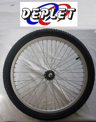 Wheel Rear BMX 20 Inches Dirt Freestyle Rim + Tire