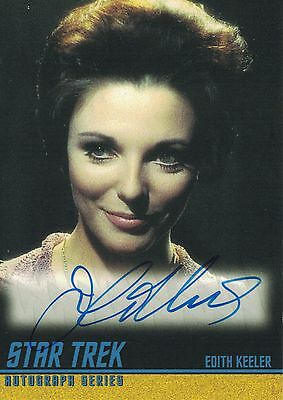 Star Trek TOS 40th Anniversary (2006): A112 Joan Collins autograph
