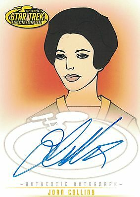 Star Trek TOS Art&Images: A14 Joan Collins autograph
