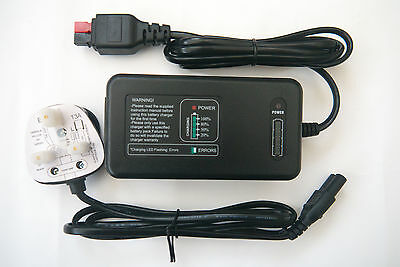 Battery Charger For Golf Glider - 12v Fully Automatic MCU Pulse Control.
