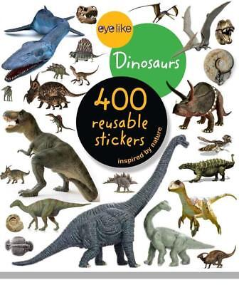 NEW Eyelike Stickers - Dinosaurs By Workman Publishing Sticker Book or Pack