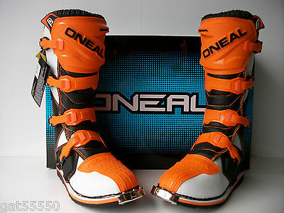 New Oneal Ktm Orange Motocross Enduro Trail Boots Sx Sxf Xcf Exc Excf Smr O'neal
