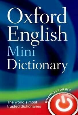 NEW Oxford English Mini Dictionary By Oxford Dictionaries Paperback