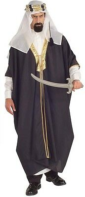 Halloween Life Size KING ARAB SHEIK STANDARD MEN ADULT RENAISSANCE COSTUME